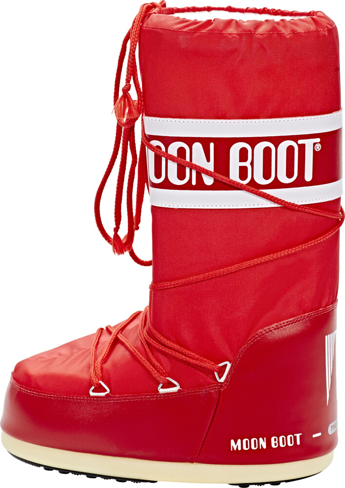 Moon Boot Nylon Moonboot - Rood PLcArdH2B